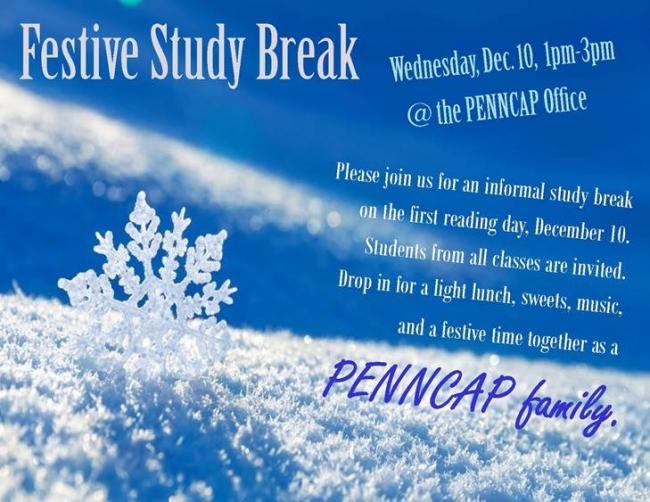 Festive Study Break Dec2014